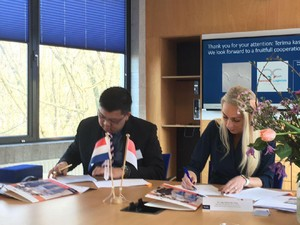 Cetak Sarjana Andal, President University Gandeng Kampus di Belanda