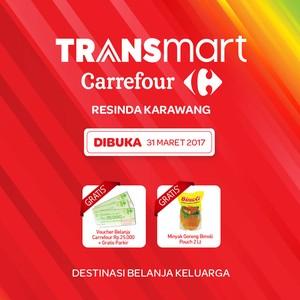 Transmart Carrefour Resinda Karawang Dibuka Besok