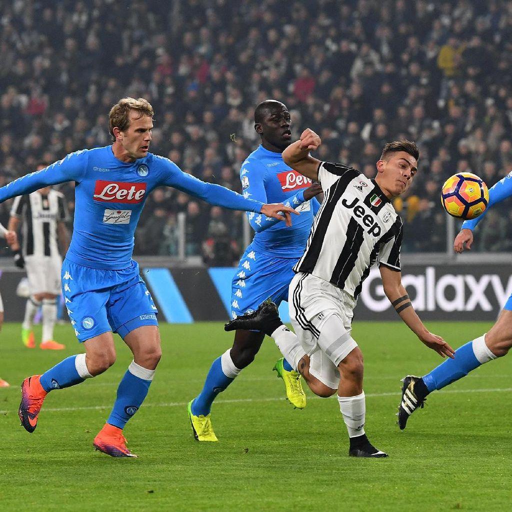 Allegri Akui Napoli Memang Memainkan Sepakbola Lebih Baik daripada Juve