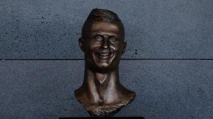 Patung Cristiano Ronaldo di Madeira, Portugal (Octavio Passos/Getty Images)