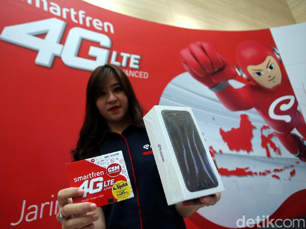 Smartfren 4G+ Klaim Selimuti 80% Area Banten