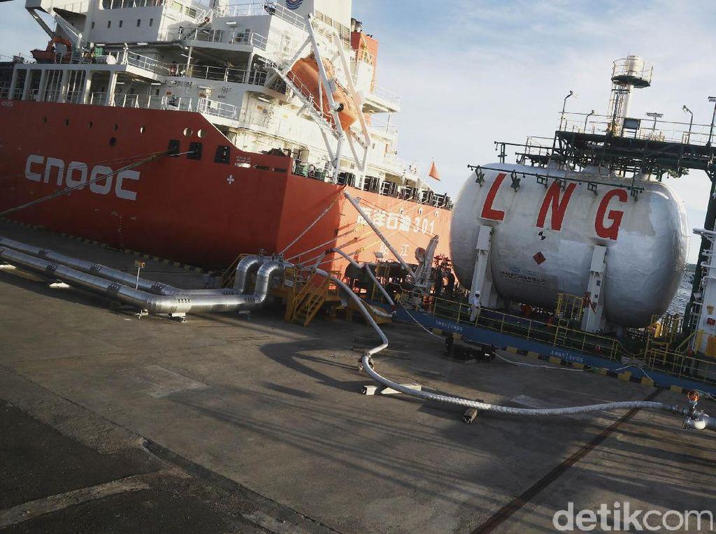 Diminta Serap Kargo LNG Muara Bakau, Ini Respons Pertamina