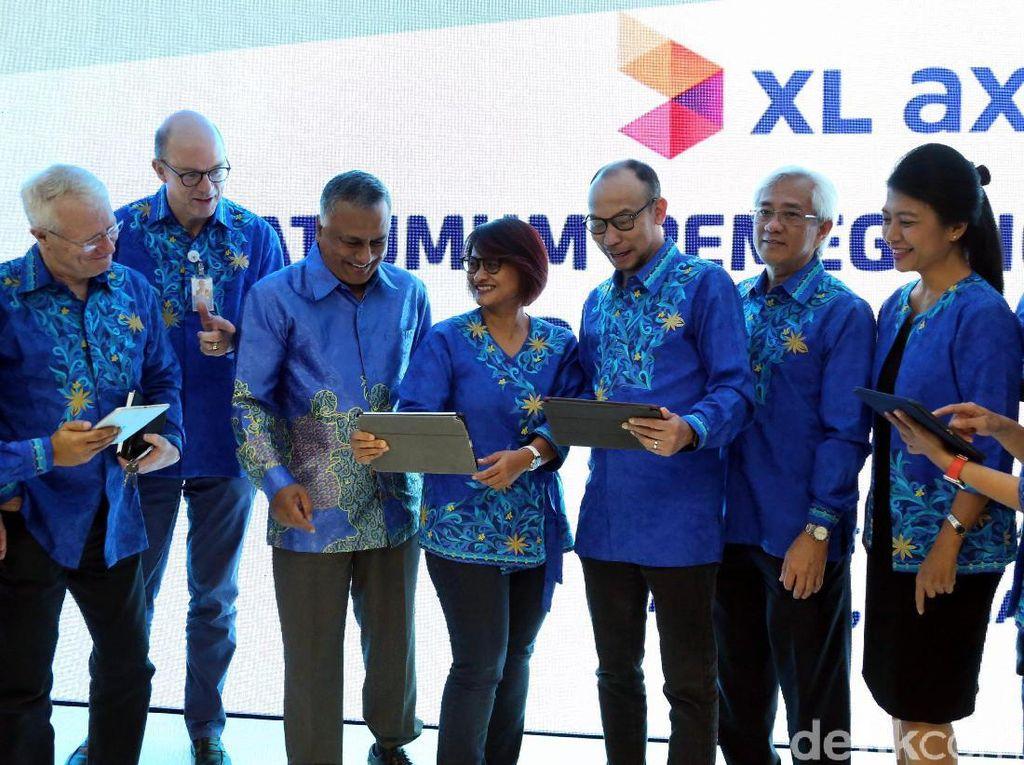 Pendapatan XL Tembus Rp 5,5 Triliun