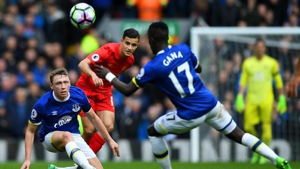 Menangi Derby Merseyside, Liverpool Tumbangkan Everton 3-1