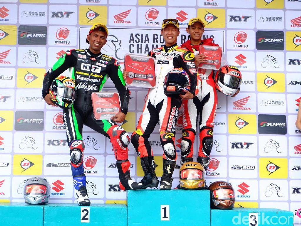 Irfan Ardiansyah Naik Podium di Kelas Supersports 600cc