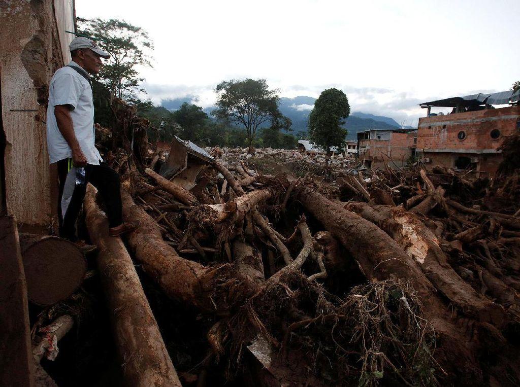254 Orang Tewas Akibat Longsor di Kolombia