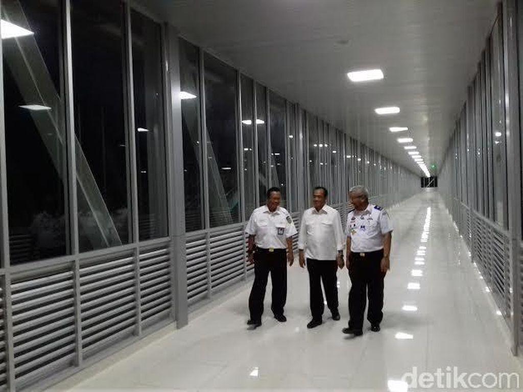 Skybridge Stasiun Balapan Solo-Terminal Ditarget Rampung Bulan Ini