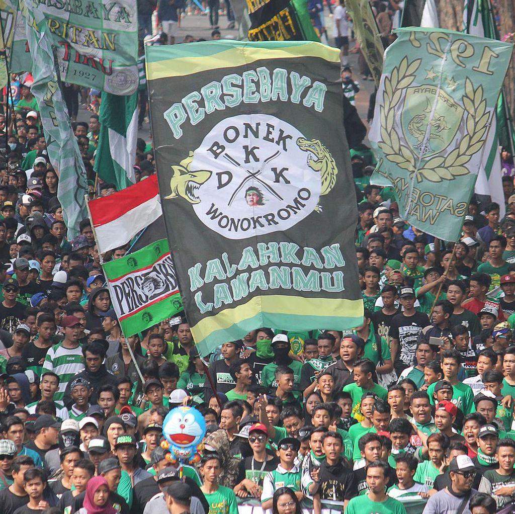 Pemkot Surabaya Beri Pelatihan Keterampilan untuk Bonek