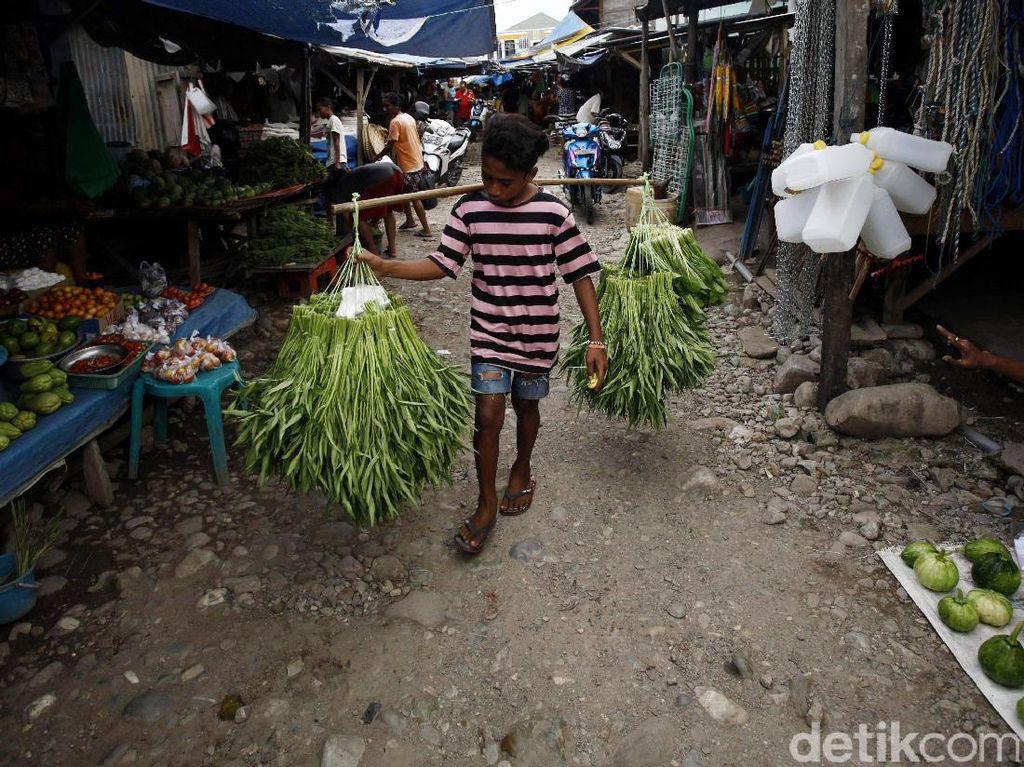 Geliat Pasar Rakyat Atambua