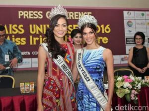 Foto: Ini yang Dilakukan Miss Universe 2016 di Indonesia