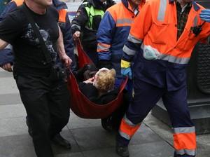 Warga St Petersburg Ceritakan Ngerinya Kejadian Saat Bom Meledak