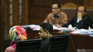 Nazar Mengaku Lupa soal Pertemuan dengan Novanto di Pacific Place