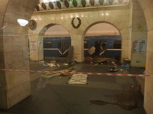 Pelaku Ledakan Kereta St Petersburg WN Rusia Kelahiran Kyrgyzstan