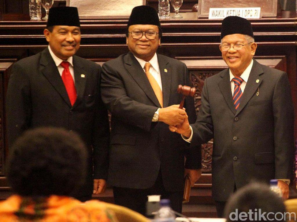 Oesman Sapta Resmi Jadi Ketua DPD