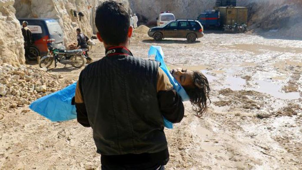 Kepala Liga Arab: Serangan Gas Beracun di Suriah Kejahatan Besar