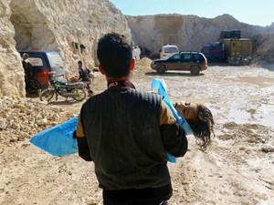 Mengenal Ganasnya Gas Sarin yang Membunuh Perlahan Anak-anak Suriah