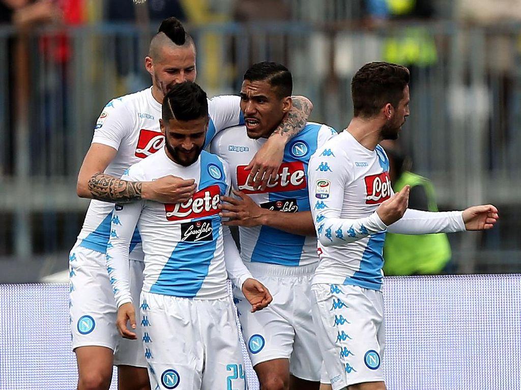 Napoli Harus Lebih Konsisten Lawan Tim-Tim Berperingkat Lebih Rendah