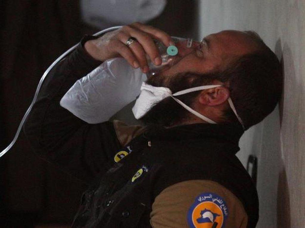 Curiga Suriah Punya Senjata Kimia Baru, AS Bisa Lancarkan Serangan