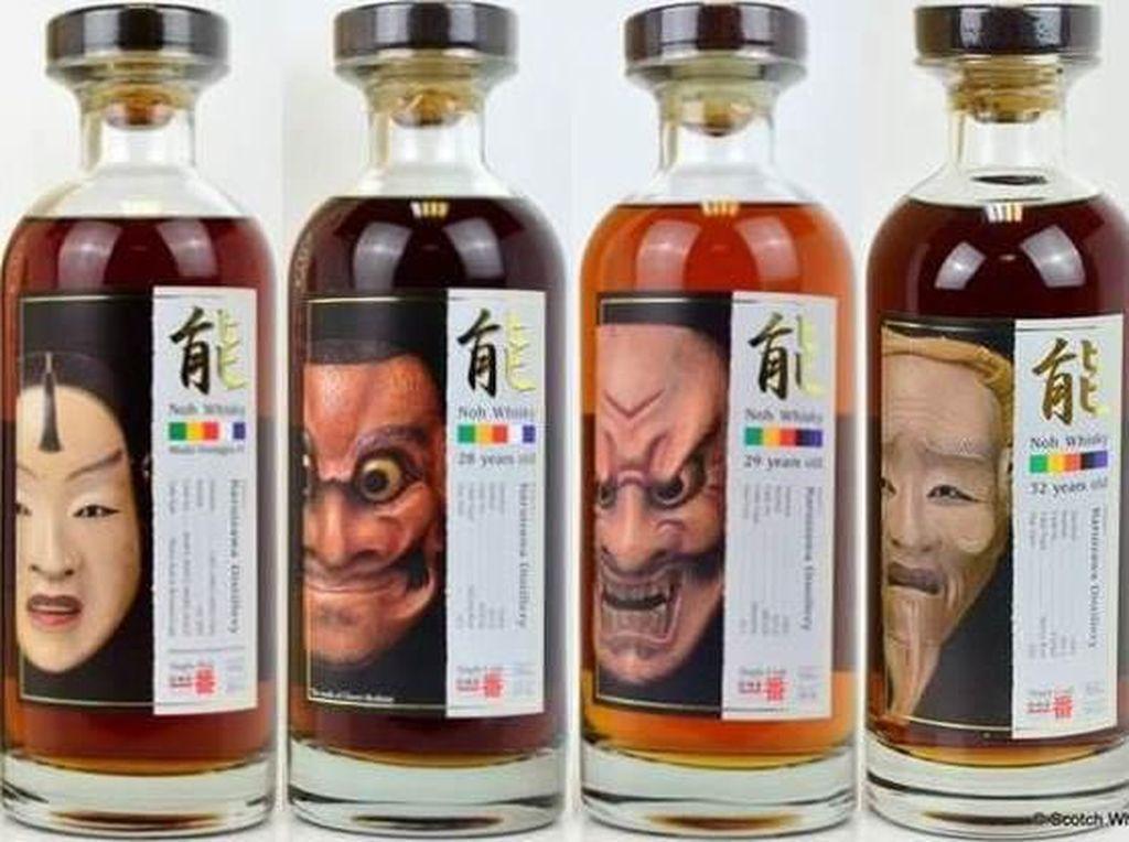 Whisky Jepang Ini Akan Dilelang Mulai Rp. 33 Juta per Botol