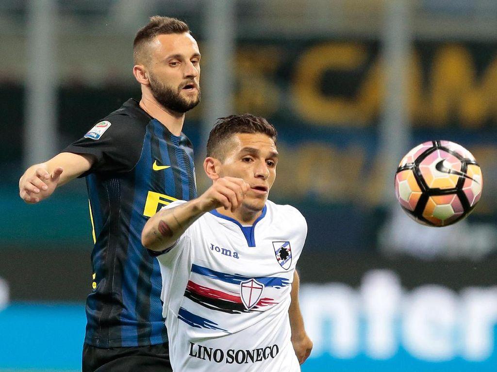 Inter Dikalahkan Sampdoria, Pioli Enggan Salahkan Brozovic
