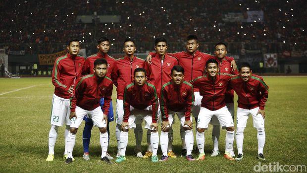 Timnas U 22: Timnas U-22 Bermain Imbang Tanpa Gol Kontra Persija