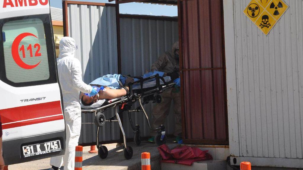 Pemberontak Suriah Bantah Klaim Rusia Soal Gudang Senjata Kimia