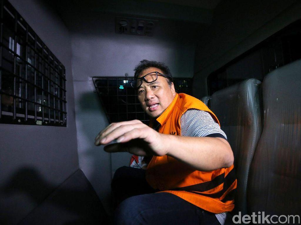 KPK Eksekusi Basuki Hariman ke Lapas Tangerang