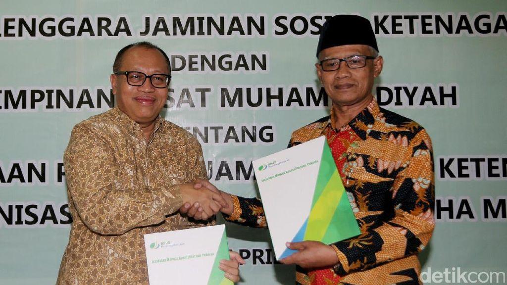 BPJS TK Gandeng PP Muhammadiyah