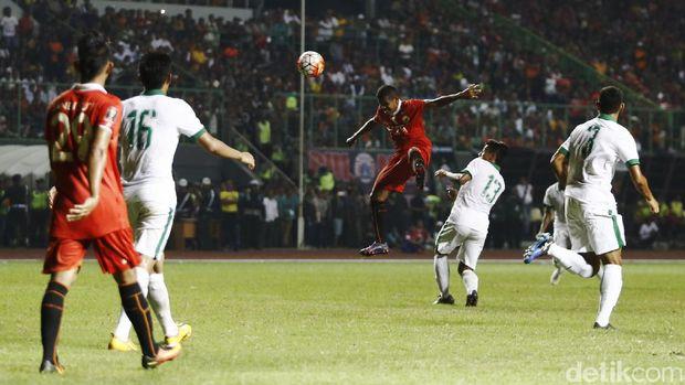 Timnas U-22 Bermain Imbang Tanpa Gol Kontra Persija