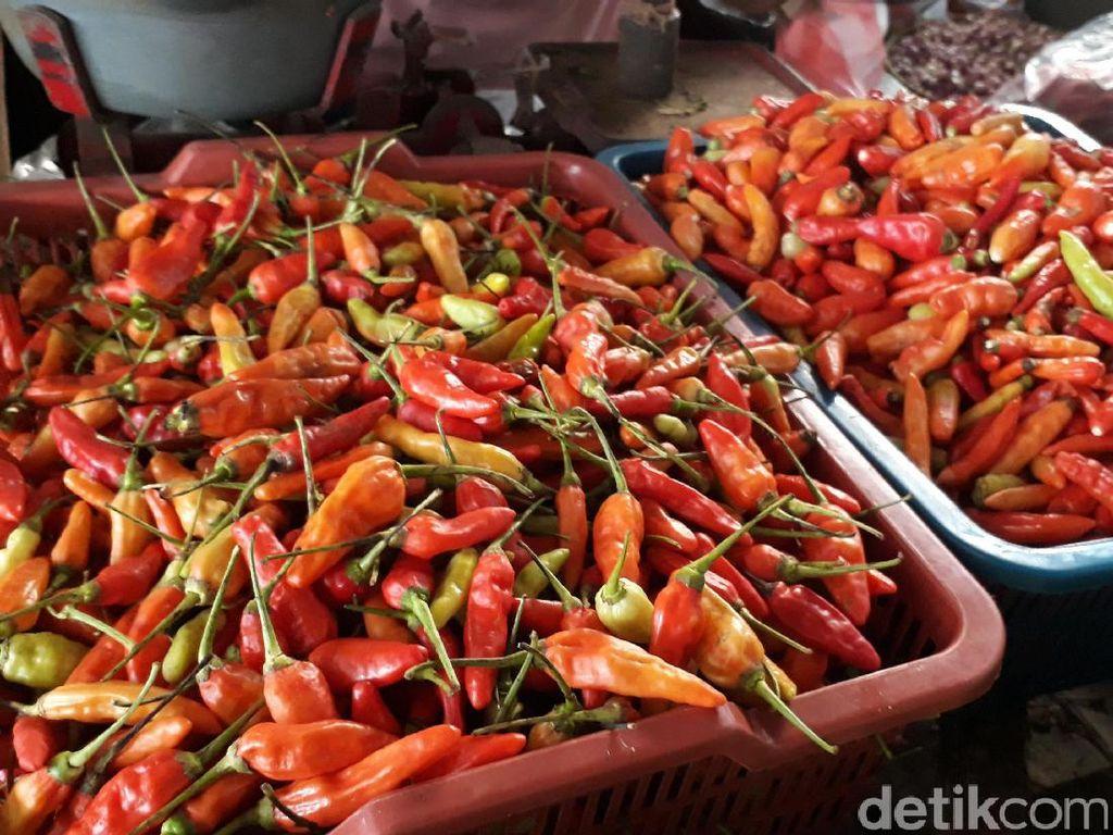 Sempat Rp 70.000/Kg, Harga Cabai Rawit Merah Kini Rp 40.000/Kg