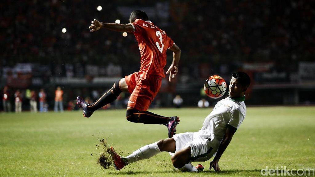 Skor Kacamata di Laga Timnas U-22 Melawan Persija