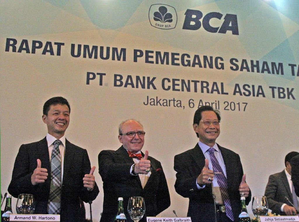 BCA Bagi-bagi Dividen Rp 4,9 Triliun
