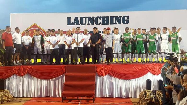 Panglima TNI Launching PS TNI Ikuti Liga 1 PSSI