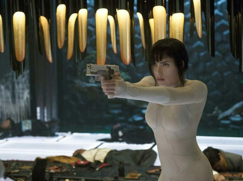 Sinopsis Ghost in The Shell, Film Kontroversi Dibintangi Scarlett Johansson