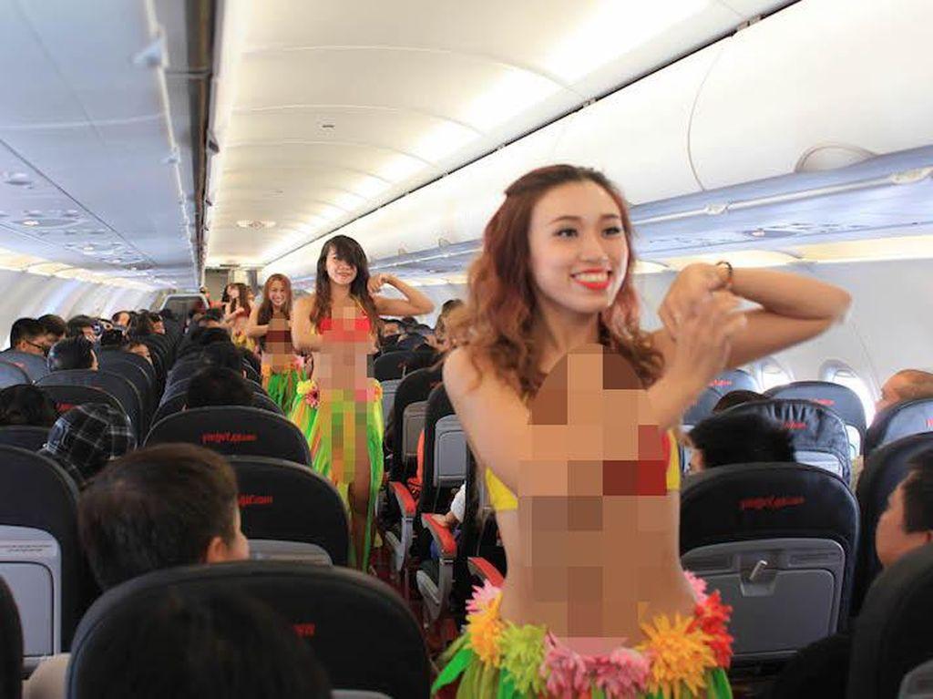 Ini yang Harus Diperhatikan Maskapai Pramugari Bikini saat Masuk RI