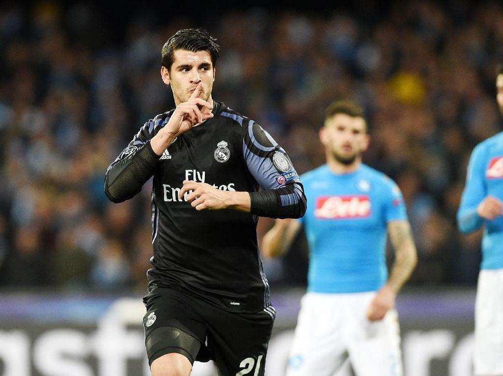 Milan Akui Kejar Morata Sejak Awal