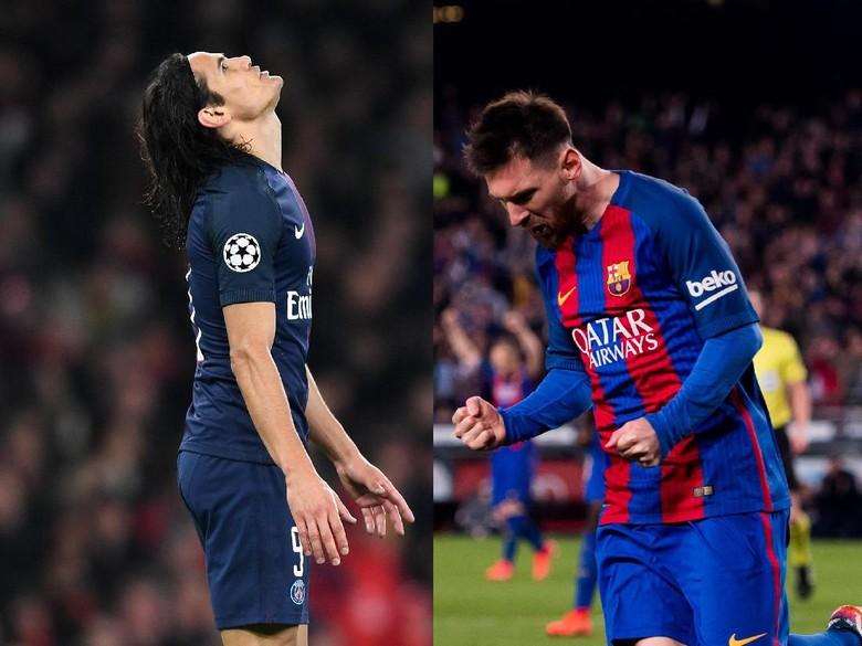 Cavani Saingan Messi Musim Ini, Bukan Ronaldo