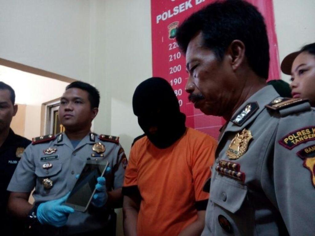 Seorang Ayah di Tangerang Tega Perkosa Anak Kandungnya
