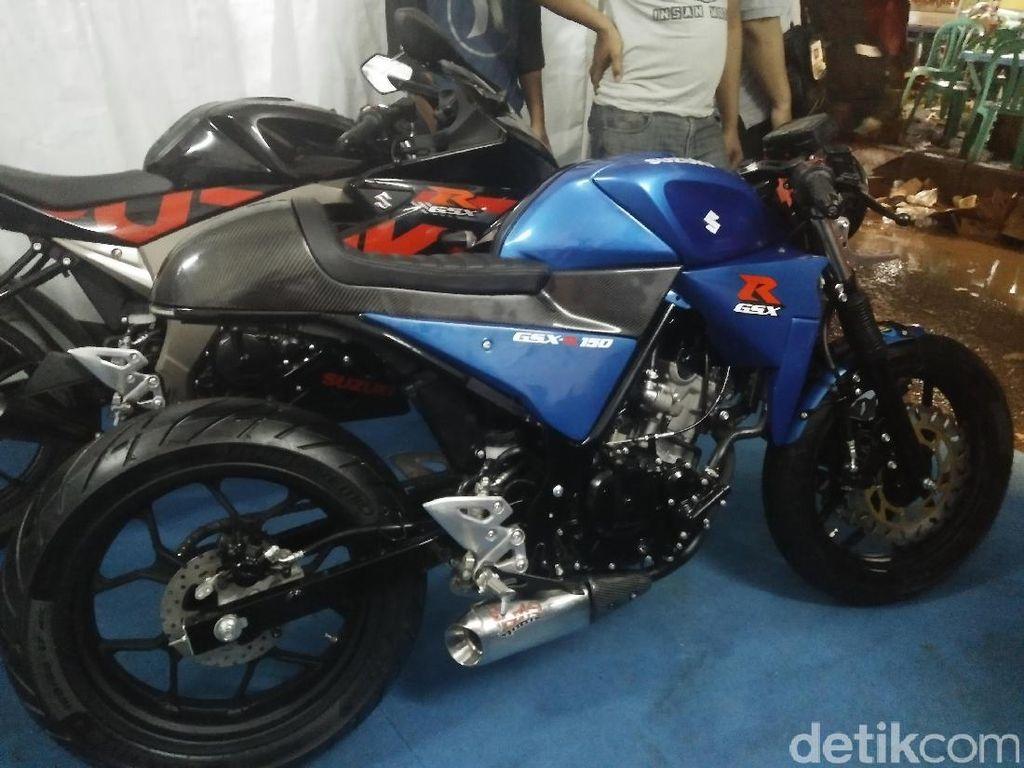 Suzuki GSX-R150 Jadi Cafe Racer