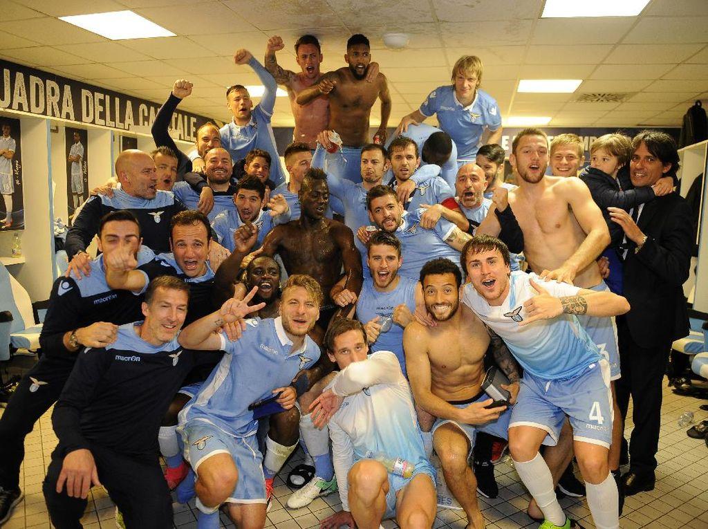 Usai Lolos ke Final Coppa Italia, Lazio Incar Posisi Ketiga di Serie A