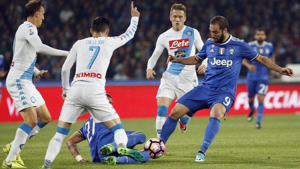 Juventus Tak Selalu Spektakuler, Napoli Berkah untuk Serie A