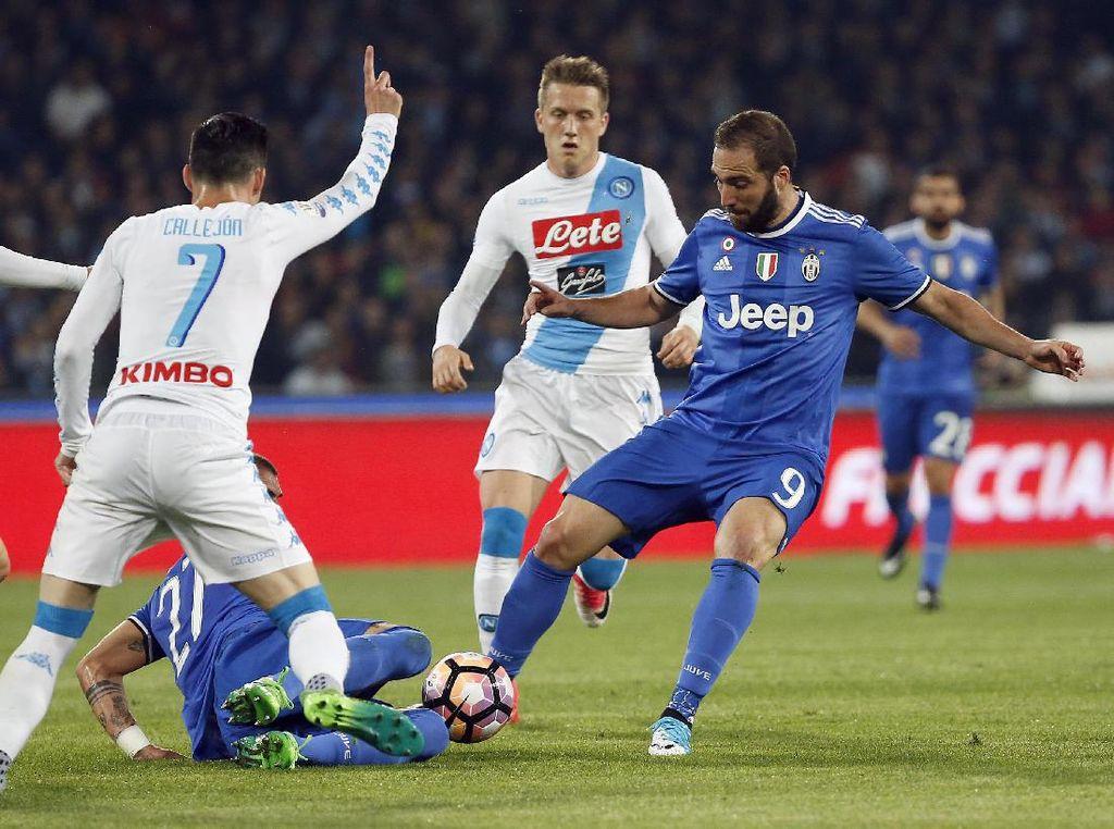 Kalah dari Napoli, Juventus Tetap Melaju ke Final