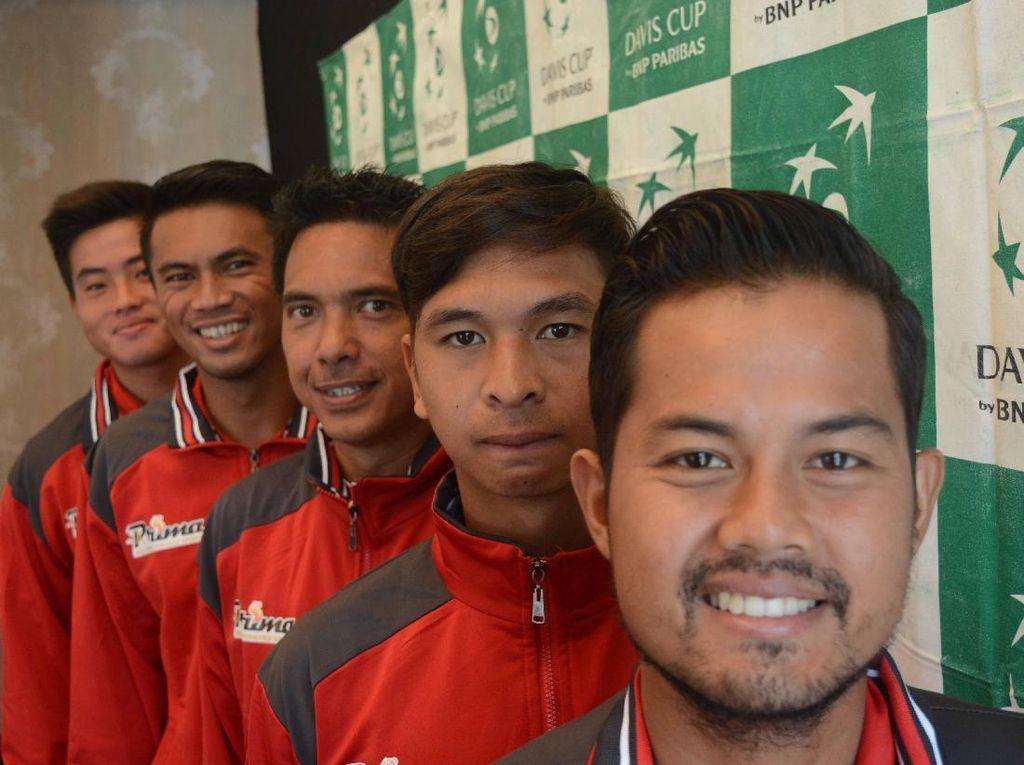 Lawan Kuwait di Playoff Piala Davis, Ini Komposisi Tim Indonesia