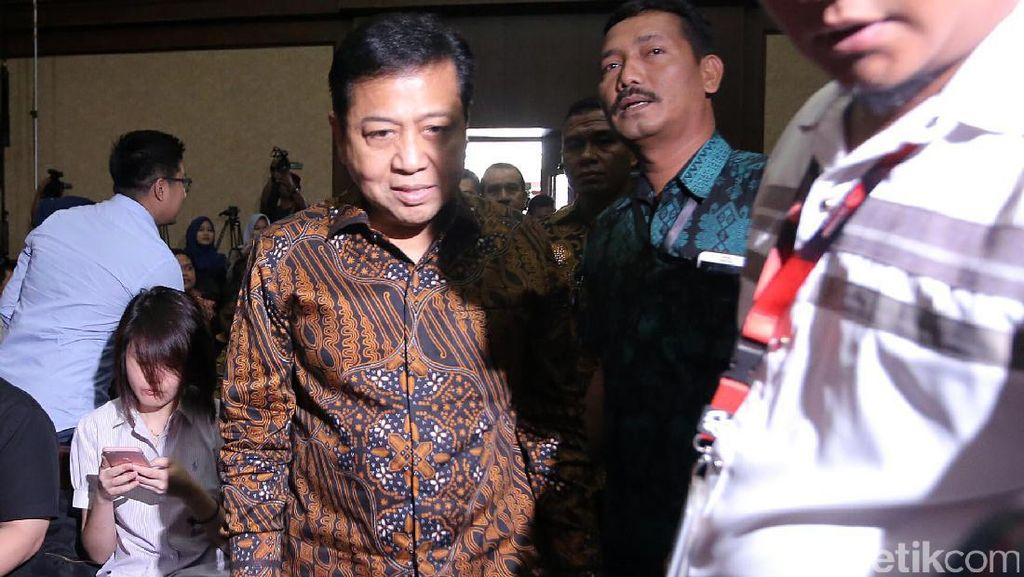 Mega Korupsi e-KTP, Novanto dan Anas Beri Kesaksian