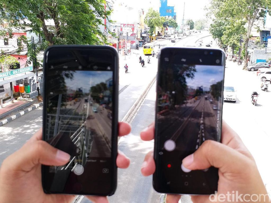 Membandingkan Hasil Jepretan Galaxy S8 dan iPhone 7 Plus