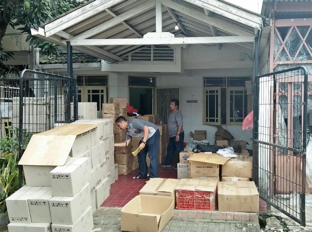 Polri Ungkap Pabrik Salep Palsu di Kalideres