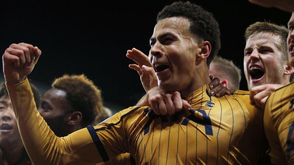 3 Gol di Menit Akhir, Spurs Pepet Chelsea