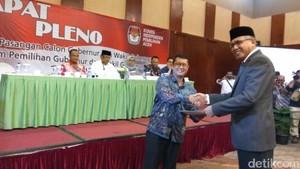 Sah! Pasangan Irwandi-Nova Ditetapkan Jadi Gubernur-Wagub Aceh