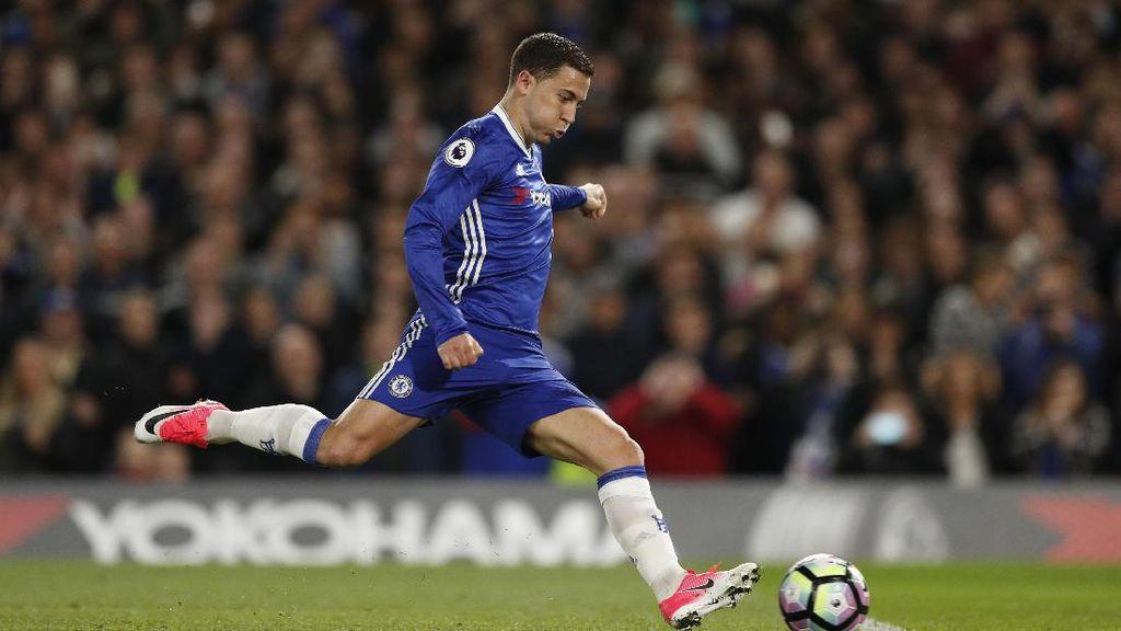 Conte Tak Jamin Hazard Tetap di Chelsea Musim Depan