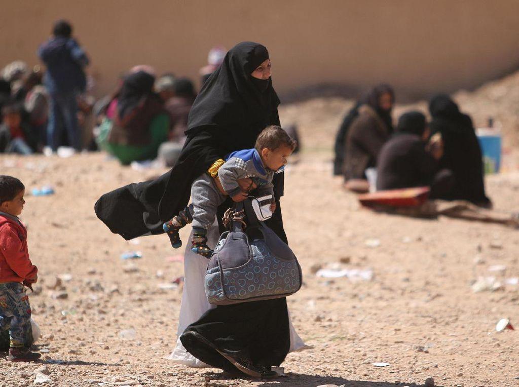 Perang Terus Berkecamuk, Pengungsi Suriah Makin Banyak